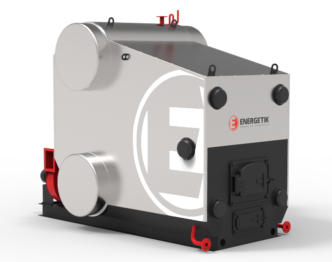 Boilers series E with a pressure up to 1.4 MPa
